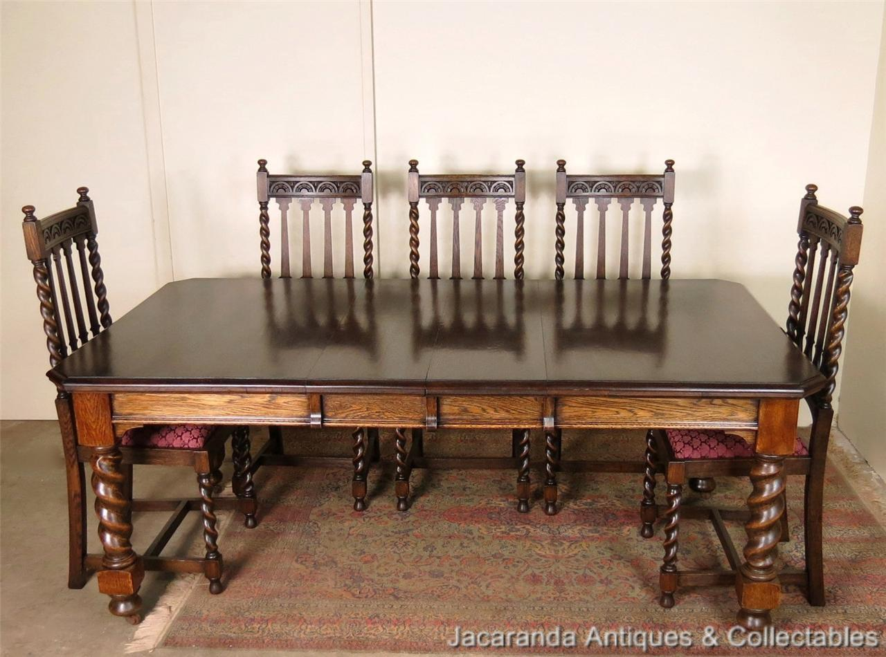 Antique Oak Jacobean 2 Leaf Extension Dining Kitchen Table  : 703645612o from www.ebay.com.au size 1280 x 950 jpeg 146kB