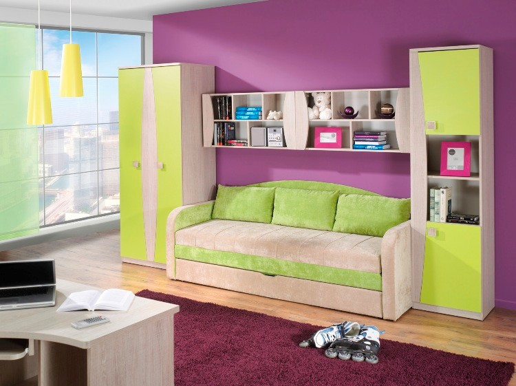 Children Kids Bedroom Furniture set Tenus 3