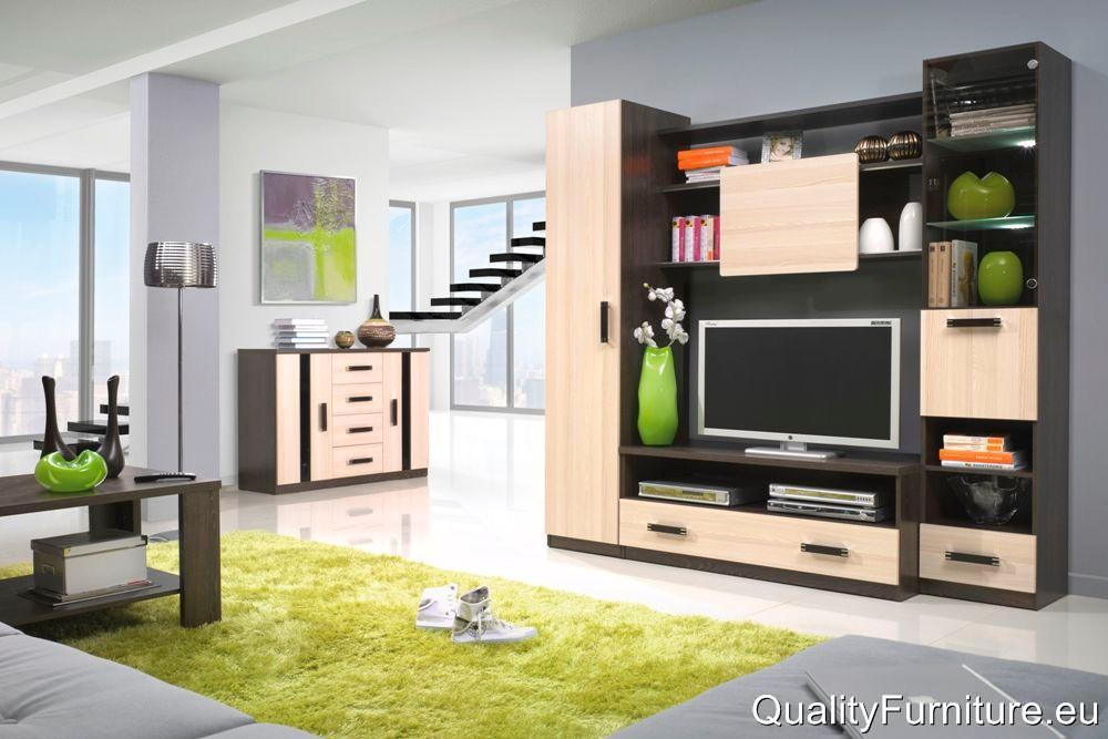 modern design high quality living room furniture wall unit