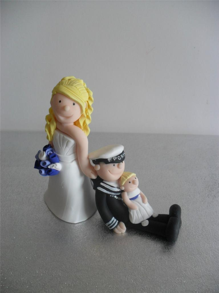 Personalised Wedding Cake Topper Figurines