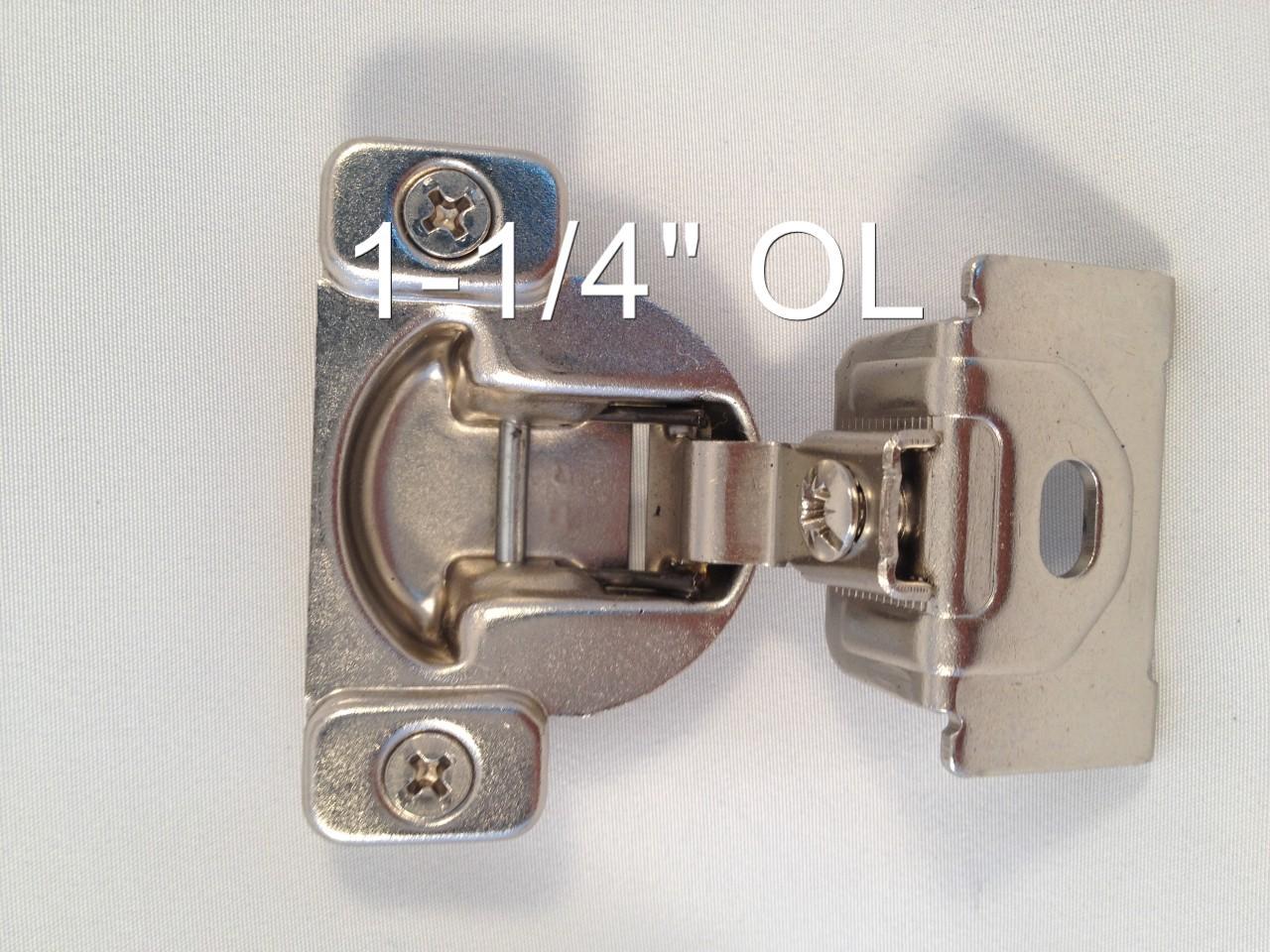 1 2 1 7 16 compact face frame kitchen cabinet hinge ebay