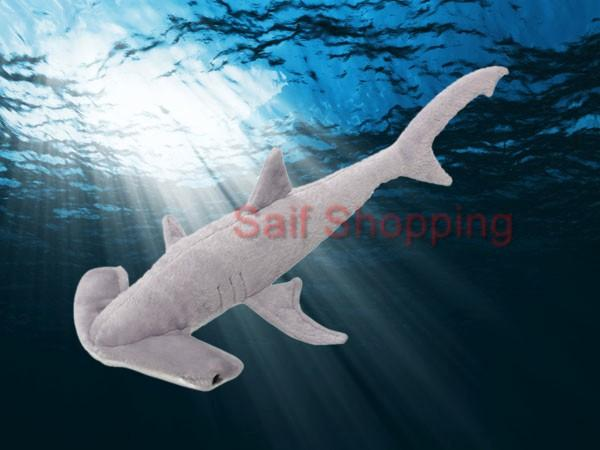 Plush stuffed animal ocean hammerhead shark 32 for Life size shark plush