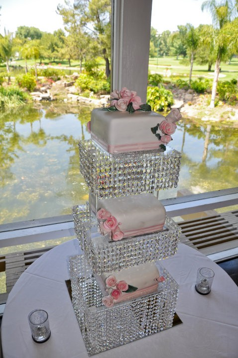 1 METRE CRYSTAL CLEAR GARLAND WEDDING CAKE STAND DECORATIONS eBay