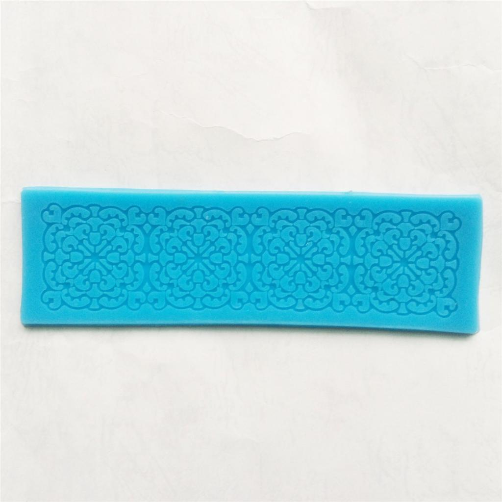 Cake Decorating Lace Molds Uk : Lace Silicone Floral Mold Mould Sugar Craft Cake ...