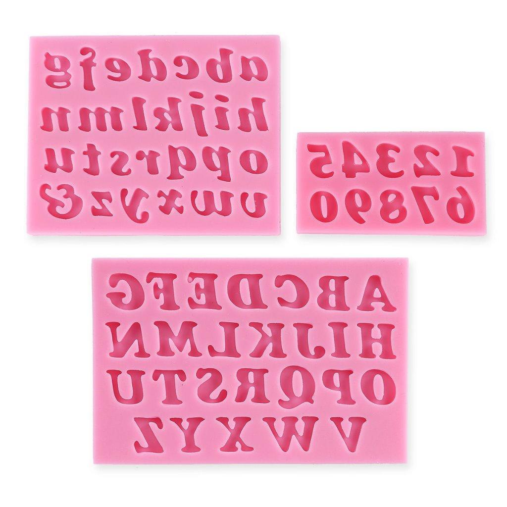 Cake Decor Ltd Company Check : Alphabet Number Letter Silicone Cake Decorating Fondant Sugarcraft Icing Mould eBay