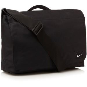 nike messenger bag laptop bag school bag black brand