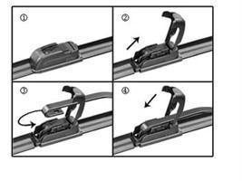 how to change toyota auris wiper blades