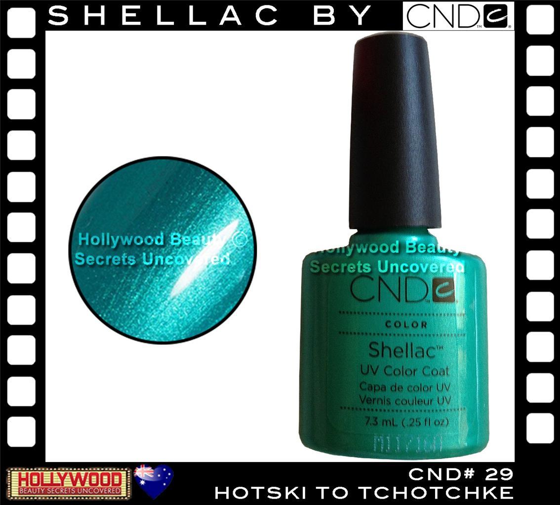 cnd shellac uv gel nail polish hotski to tchotchke 100 authentic ebay. Black Bedroom Furniture Sets. Home Design Ideas
