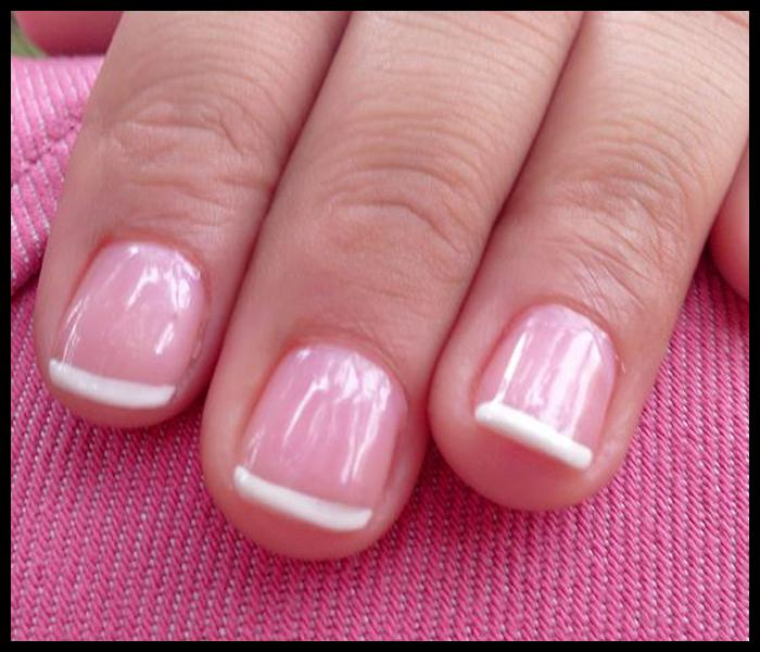 Clear Pink Nail Polish French Manicure Great Photo Blog About