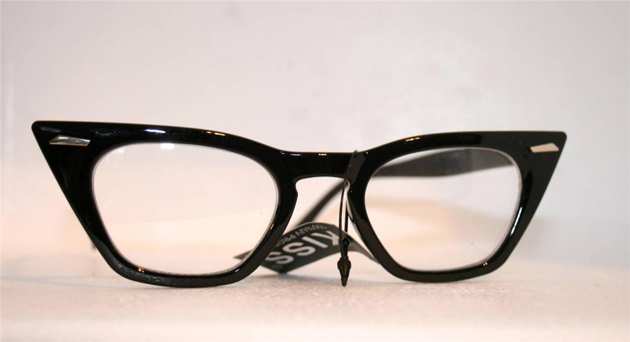 new retro style 40 s 50 s 60 s pointy nhs cateye frame