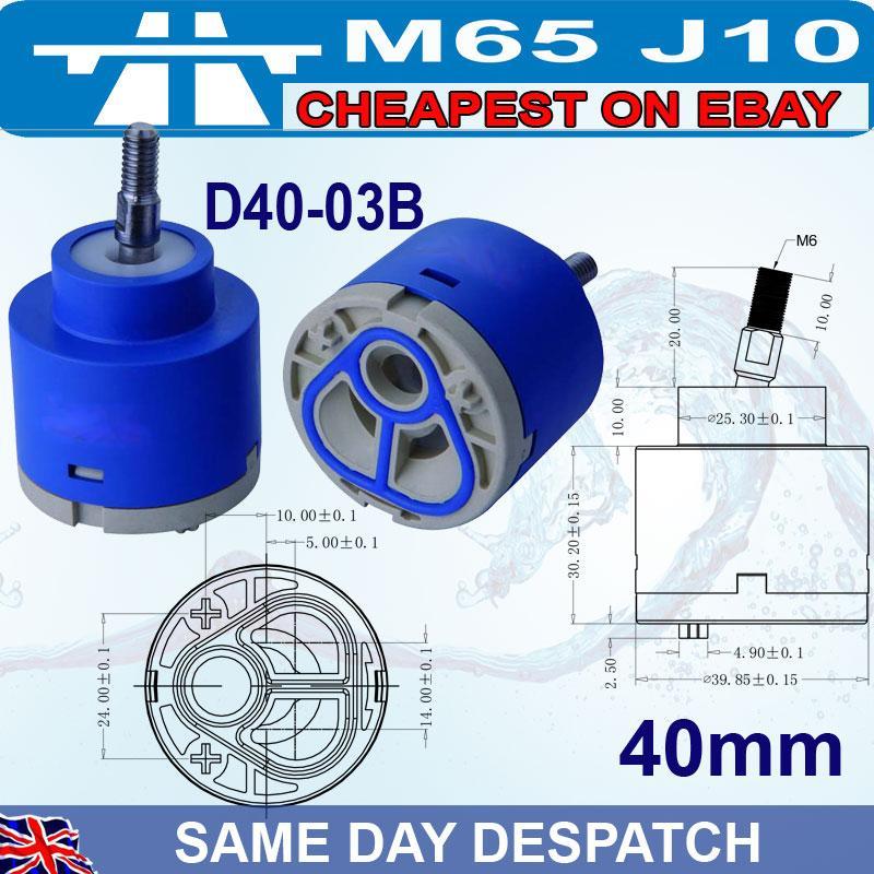 35mm-40mm-Ceramic-disc-plastic-bath-basin-shower-lever-mixer-tap-inner-cartridge