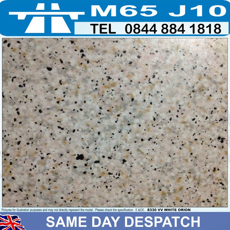 Clearance Kitchen Formica Laminate Worktops 40mm Black ...