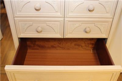 Hammonds Furniture Limed Oak Effect Chest Of 8 Drawers EBay