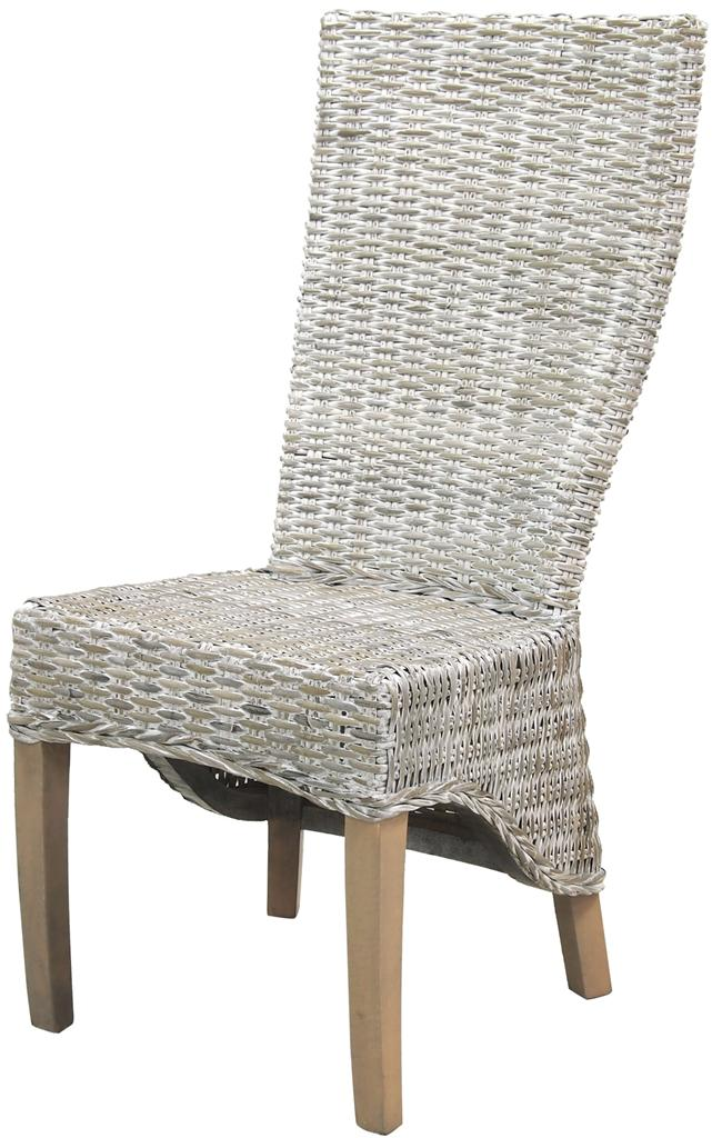 Dining Chair Rattan Dining Chair Lime Wash Finish Deck Chairs EBay