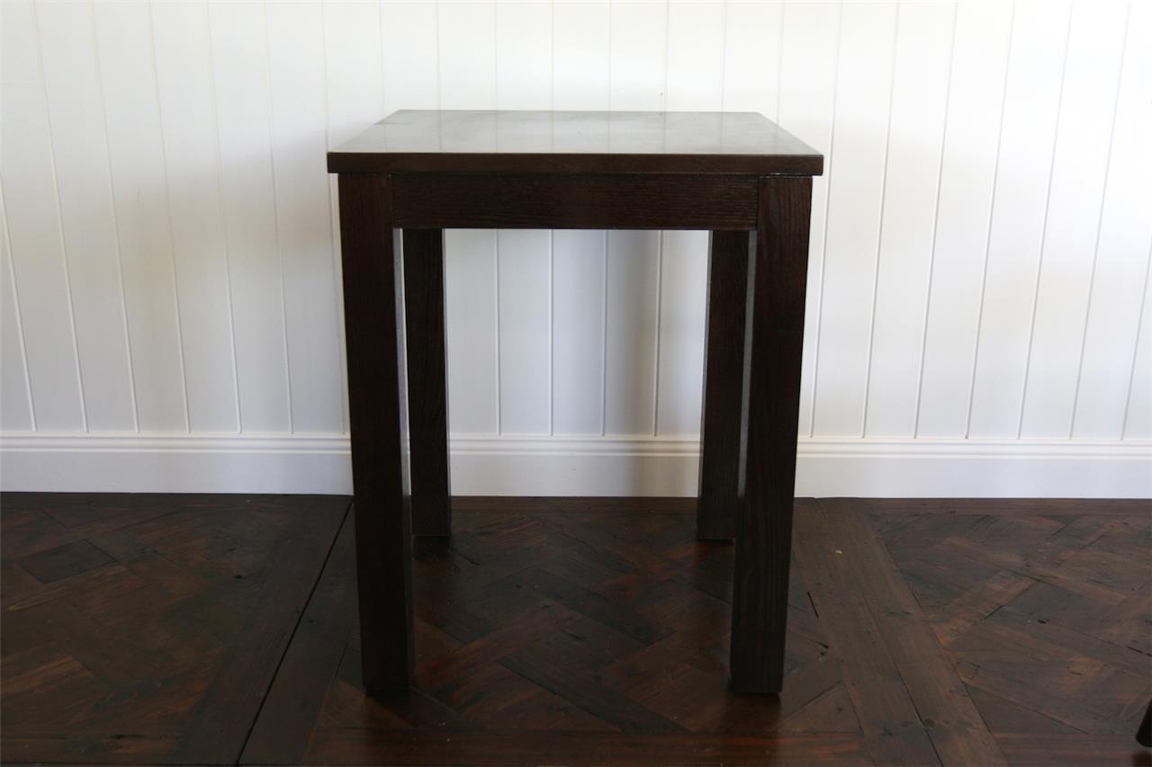 Wooden timber cafe tables restaurant furniture