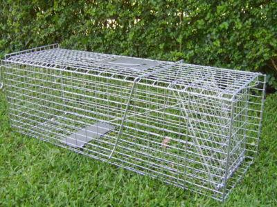 LARGE-TRAP-Humane-live-possum-rabbit-fox-bird-animal-cage