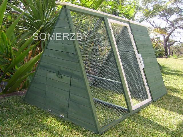 Chicken-Coop-Rabbit-Hutch-CHOOK-TRACTOR-Somerzby-LODGE-Guinea-Pig-Cage-Run