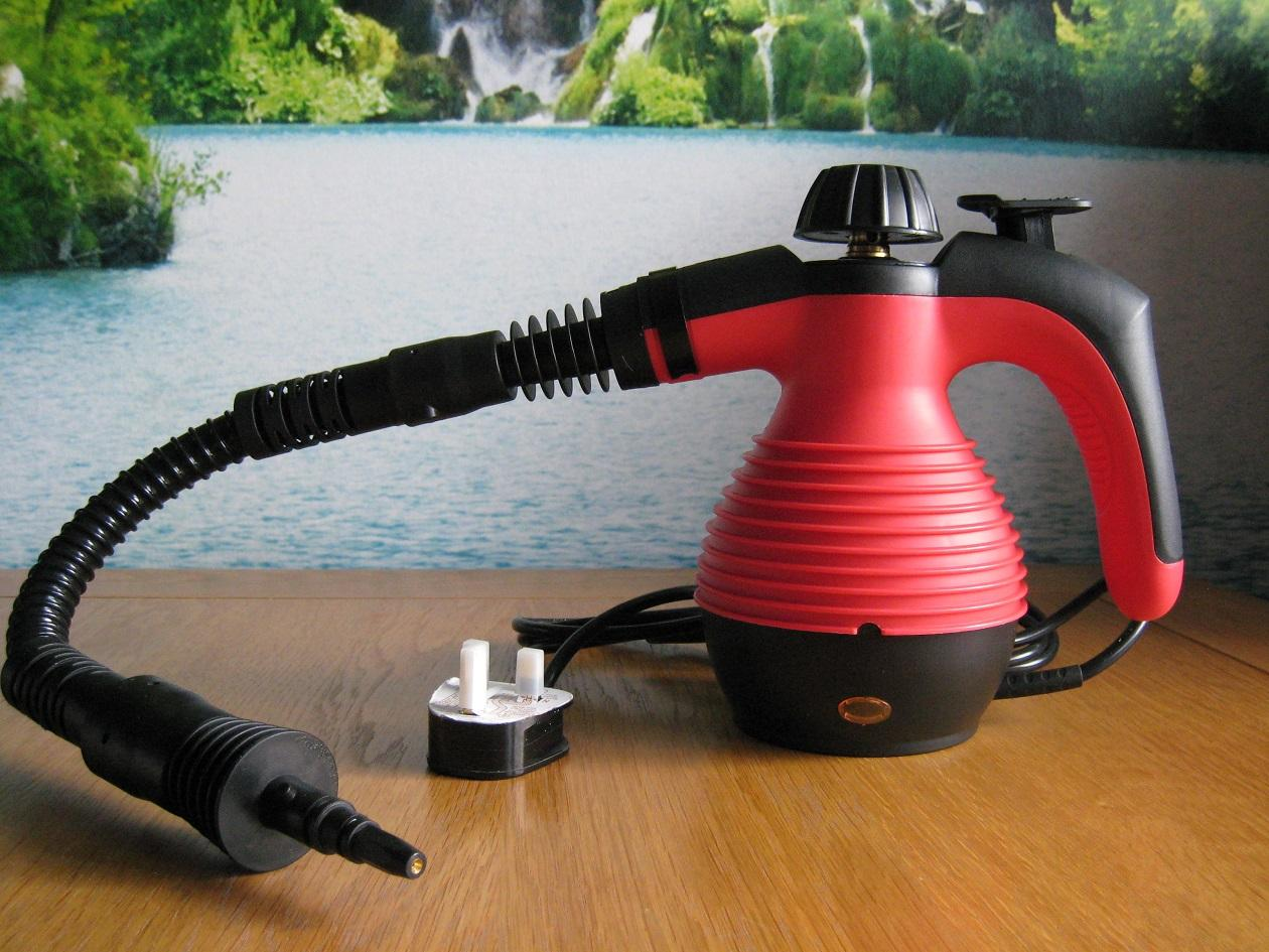 Portable Steam Turbine : Electric steam cleaner portable hand held powerfull with