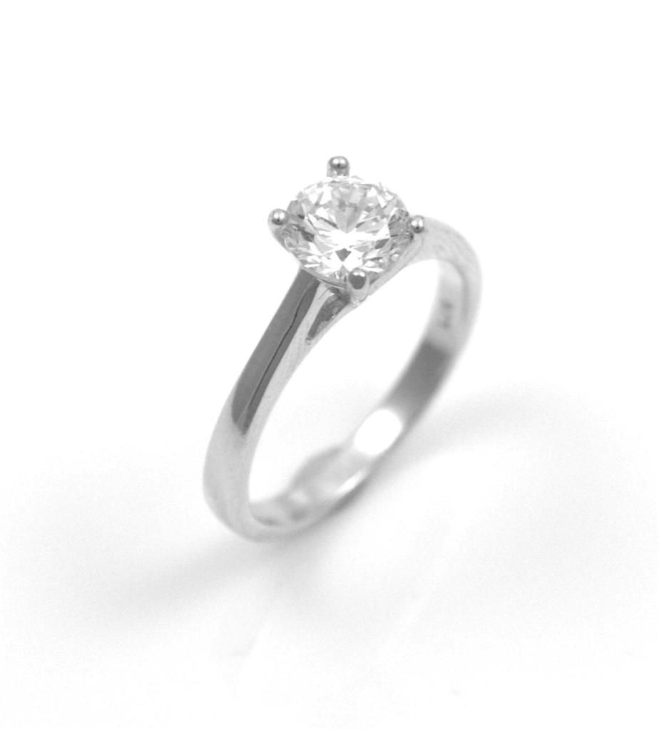 Diamond-Unique-Solid-Silver-Rhodium-platinum-Engagement-Ring-1ct-1-2-ct