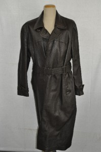 Details about WW2 GERMAN ARMY LUFTWAFFE BROWN LEATHER OVERCOAT US 42