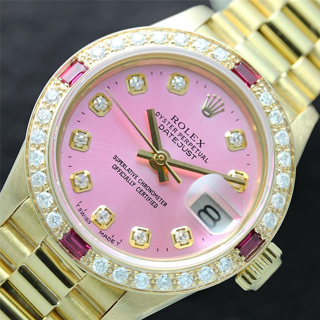 Pink Diamond Rolex Watches For Women