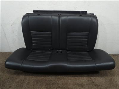 Replacement Oem Ford Mustang Black Leather Coupe Rear Seat