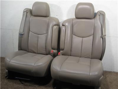 Chevy Silverado Replacement Seats >> Replacement Gm Chevy Silverado Tahoe Oem Leather Seats 2000