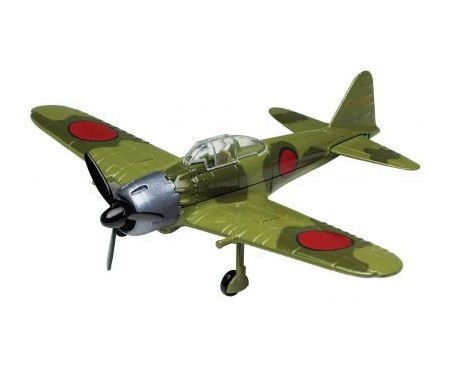 Diecast-A6M5-Zero-Die-cast-by-MOTORMAX-1-48-NEW-Die-Cast-Model-76368-WW2-Fighter