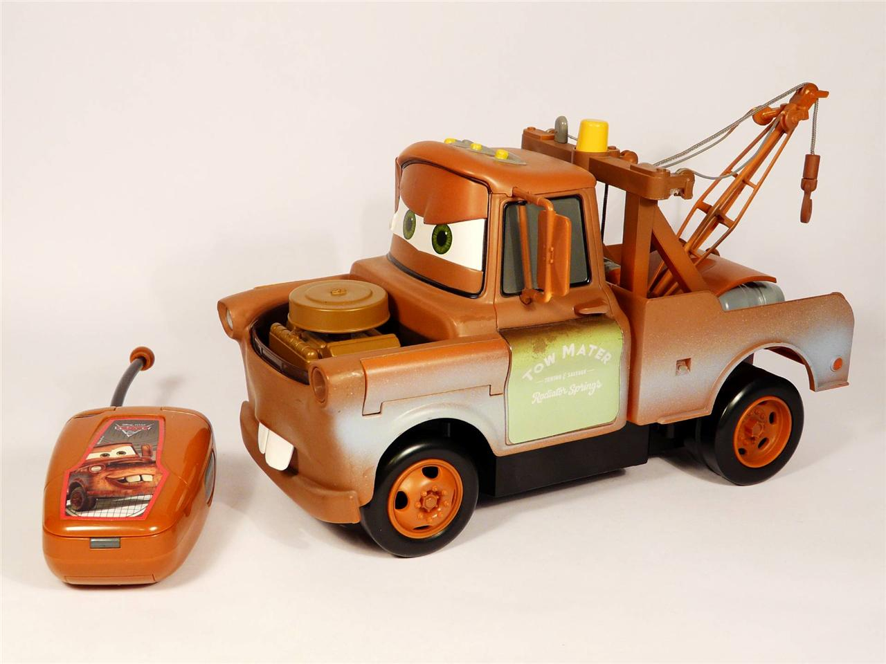 Disney Pixar Cars  Tow Mater Remote Control