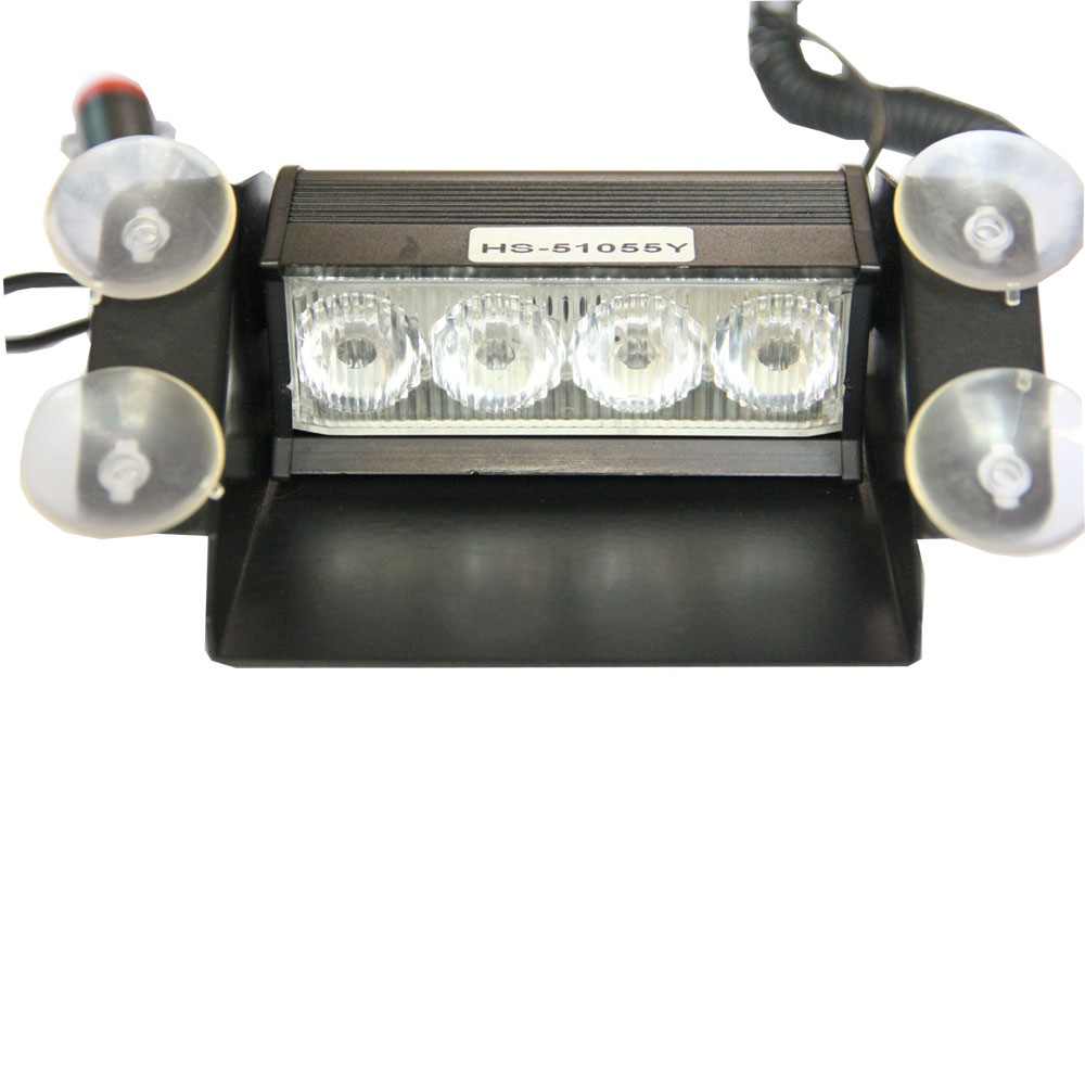 power flash 4 led boat truck car vehicle fog strobe light lamp white. Black Bedroom Furniture Sets. Home Design Ideas