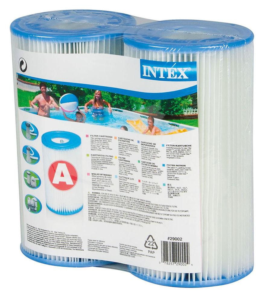 Intex Type A Replacement Swimming Pool Filter Pump Cartridges Type Lll Ebay