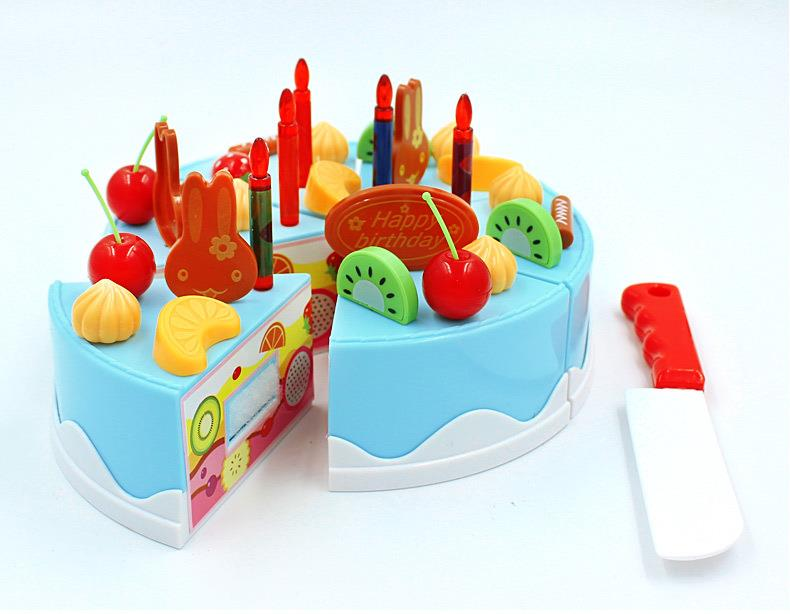 Toys For Your Birthday : Make your own diy birthday fruit cake kids pretend play
