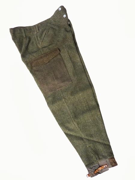 GENUINE-WW2-WORLD-WAR-II-SWEDISH-M39-WOOL-TROUSERS-VINTAGE-ARMY-TROUSERS-GRADE-1