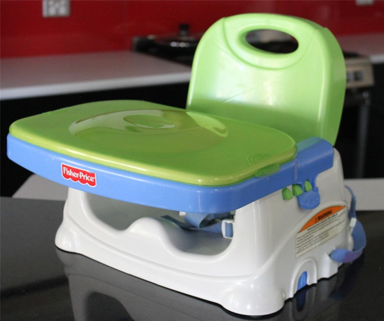 FISHER PRICE Folding Adjustable Booster High Chair Feeding