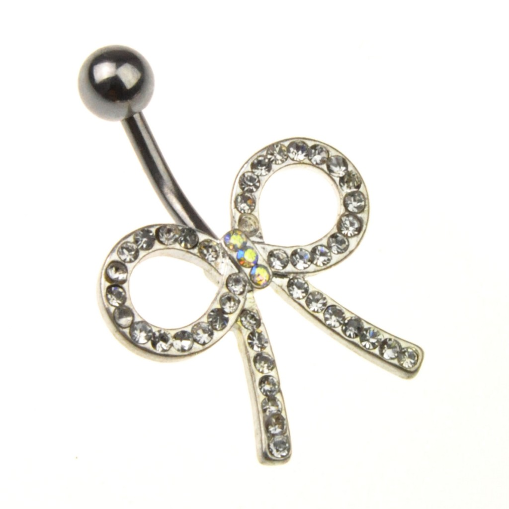 UK-SELLER-Gorgeous-Crystal-Surgical-Steel-Navel-Bars-Belly-Bars-Many-Styles