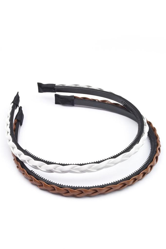 Alice band aka the headband is a flexible hairband of cloth, elastic, plastic or other material that women and girls wear to keep their hair in place. It is referred as Alice Band after the famous character Alice in Lewis Carroll's novel Alice's Adventures in Wonderland.
