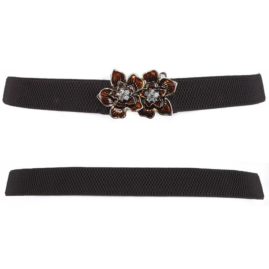 Fashion Women Belt Elastic Belts Classic Belts Pendant ...