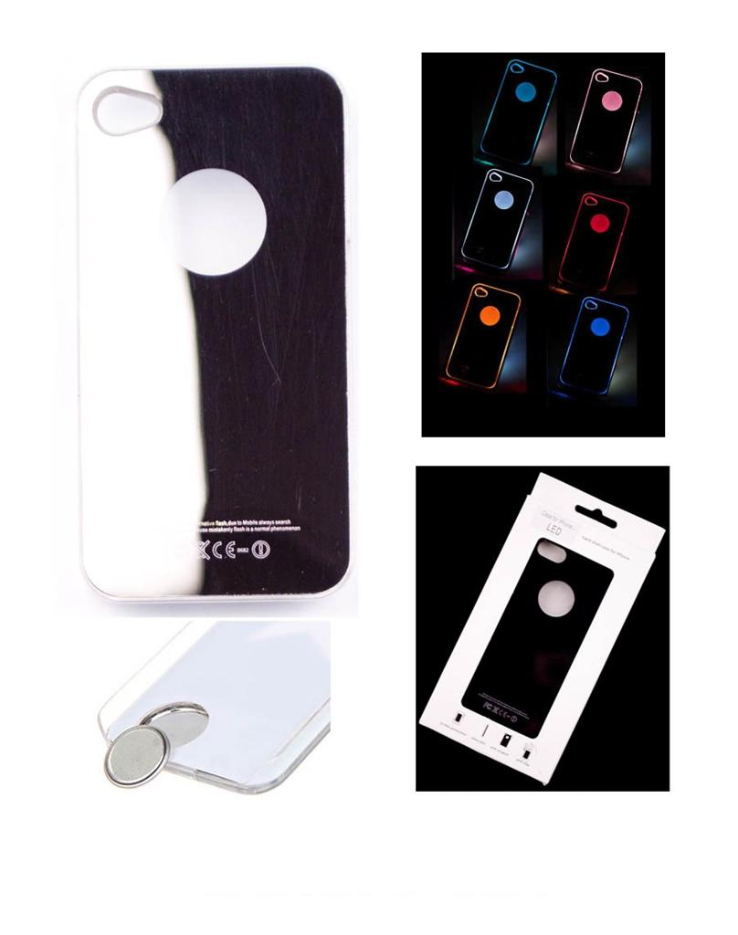how to turn led light on iphone 5