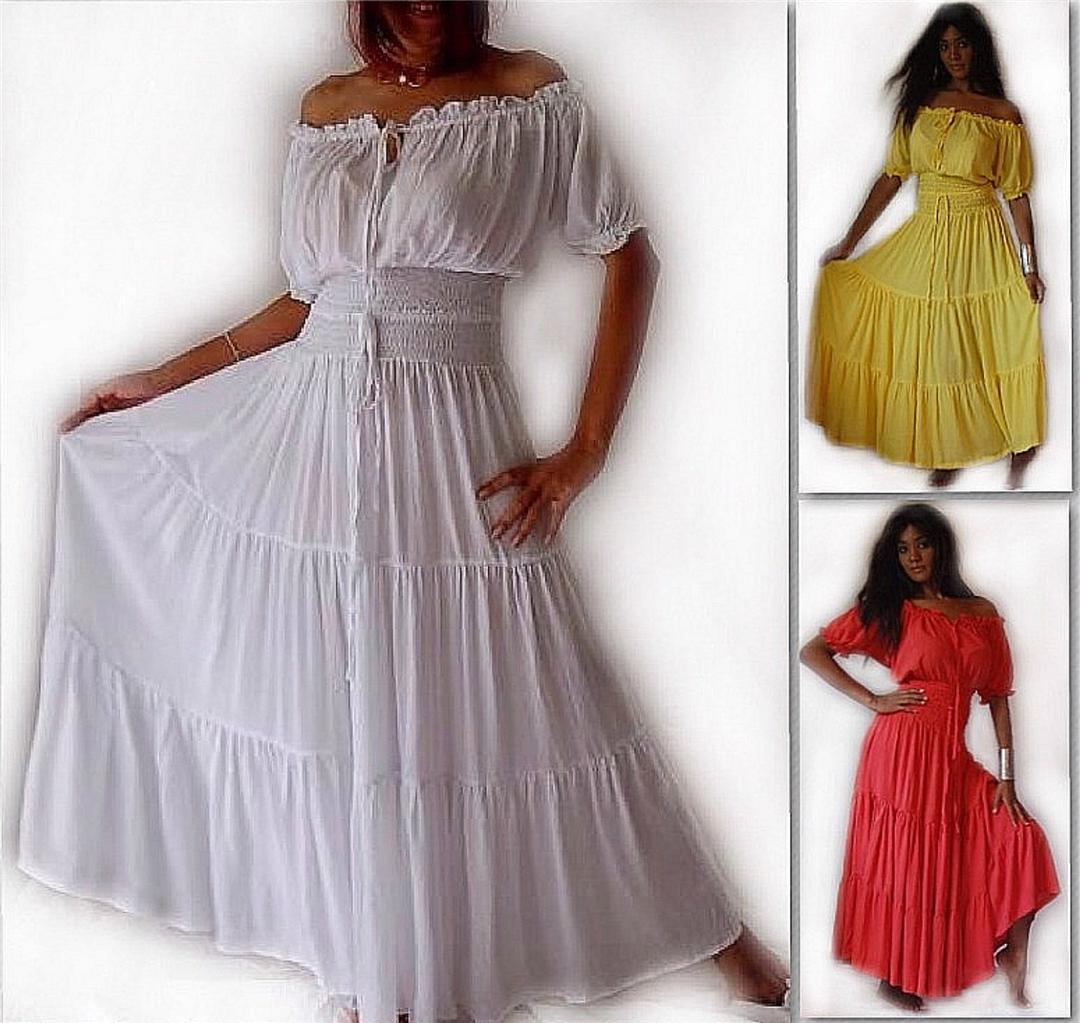 Womens Peasant Dresses