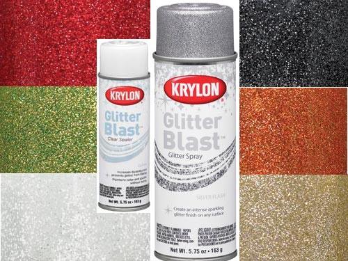 1 new 6oz craft scrapbook krylon glitter blast spray can for Spray glitter for crafts