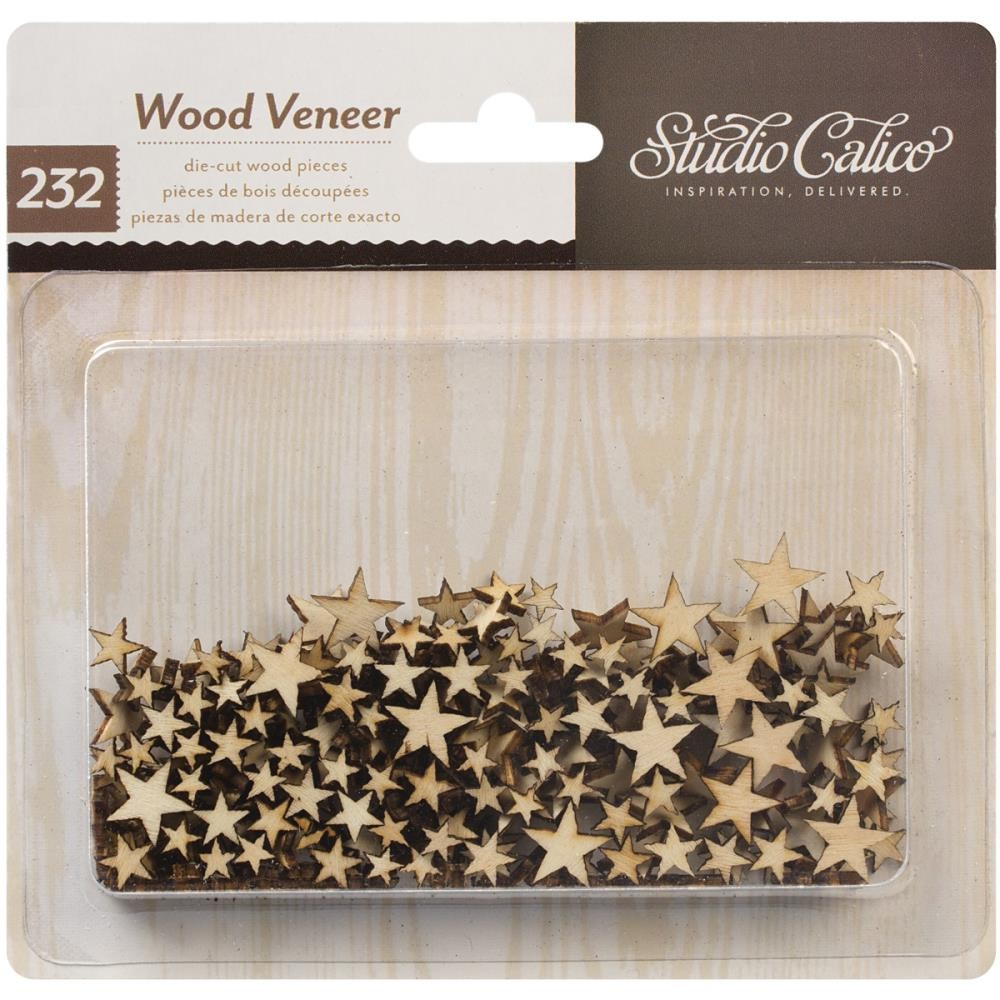 Studio Calico Wood Veneer Stars
