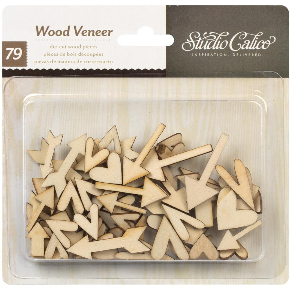 Wood Veneer Embellishments