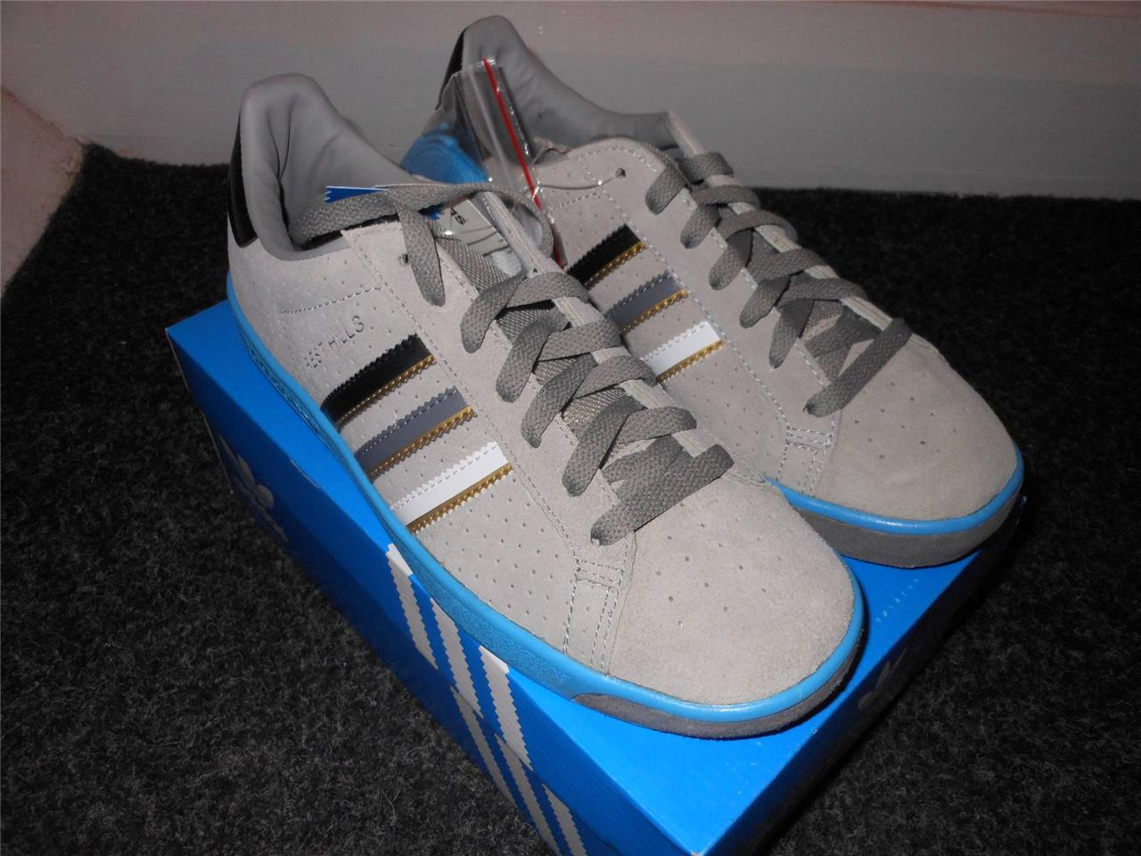 Mens-white-or-grey-adidas-FOREST-HILLS-trainer-NEW-BOXED-size8-9-10-IDEAL-GIFT