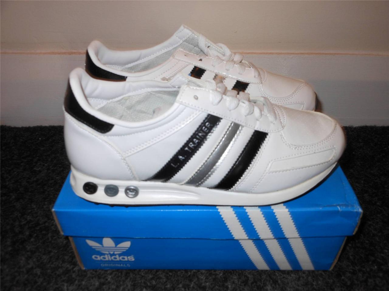 Mens-adidas-L-A-TRAINER-trainer-NEW-BOXED-various-sizes-IDEAL-GIFT-FREE-UK-PP