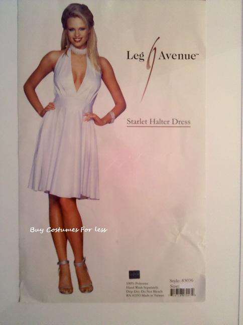 Leg-Avenue-Sexy-Womens-Starlet-Halter-Marilyn-Monroe-Adult-Halloween-Costume