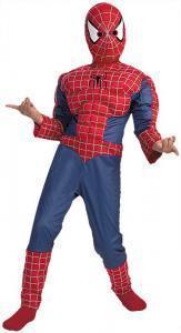 Child-Spiderman-2-Muscle-Suit-Halloween-Costume-Dress-Up-Super-Hero