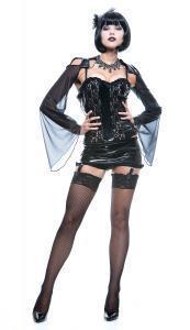 Adult-Sexy-Midnight-Mistress-Womens-Halloween-Costume-Dominatrix