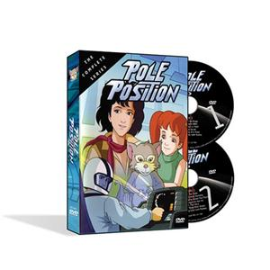 Pole Position Cartoon Complete Series 2 Disc DVD Set New