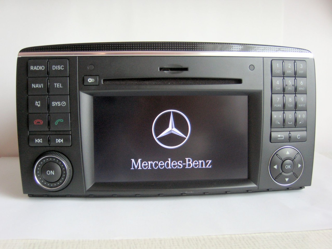 mercedes navigation w203 c class comand aps ntg2 dvd. Black Bedroom Furniture Sets. Home Design Ideas