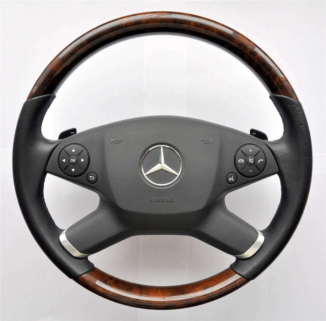 Mercedes E/CLK Class W212 S212 C207 A207 Multifunction Steering wheel PADDLES